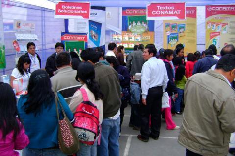 PRESENTES. Lumbreras Editores desarrollará Feria de Libros durante las Eliminatorias del 16 CONAMAT