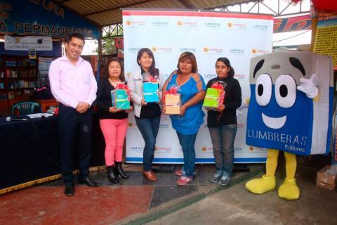 FELICITACIONES. Ganadores en la Camara Popular de Libreros.