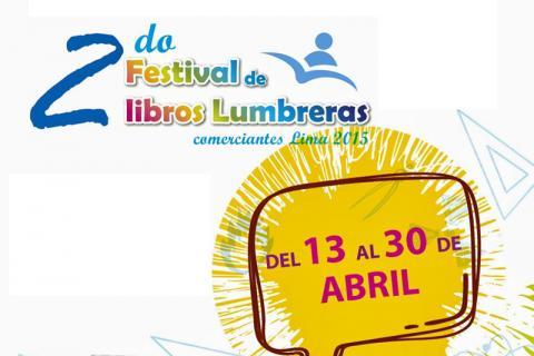 AFICHE. Regresa el Festival de Libros Lumbreras en Campo Ferial Amazonas.