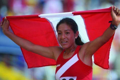 Vocera del evento, la destacada deportista peruana Inés Melchor.